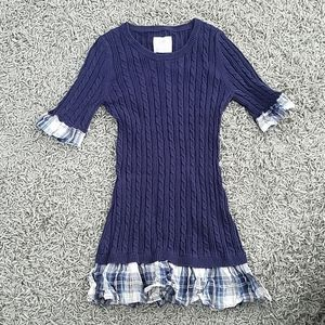 Justice knitted sweater dress
